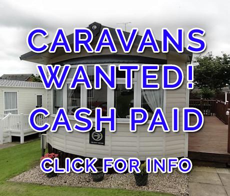We buy caravans